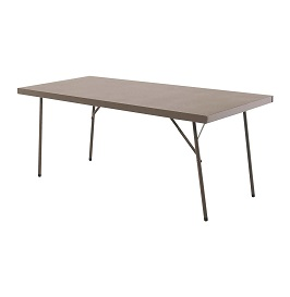 Steel trestle tables 2