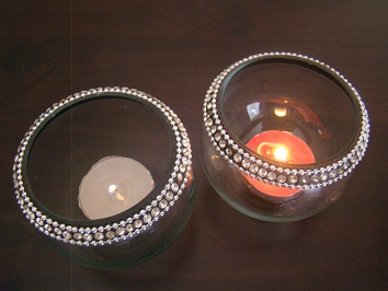 Votives (Candle/Flowers)